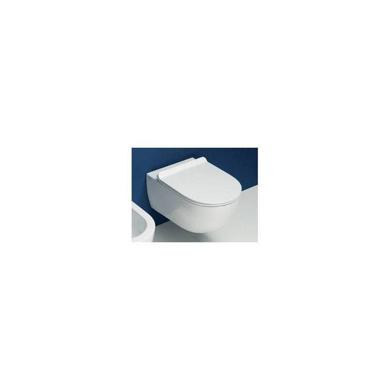 APP WC WALL-HUNG GOCLEAN BLACK - Ceramica Flaminia AP118GNER -  IonaHomeStore com
