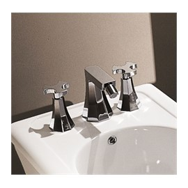 EVERGREEN 3 HOLES BIDET GOLD - Ceramica Flaminia EG202OR