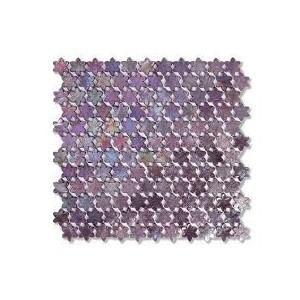 F03 Rosebay Petites Fleurs - foglio  31,6x29,3 Mosaico Sicis
