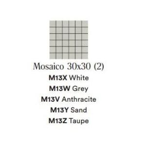 APPEAL ANTHRACITE MOS 30X30 - Marazzi M13V