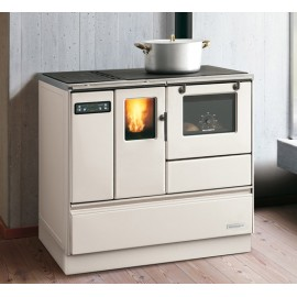 PELLET COOKERS ORNELLA 8  8kw PAINTED STEEL AVORIO Palazzetti