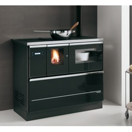 PELLET COOKERS PALOMA 8  8kw PAINTED STEEL Black Palazzetti