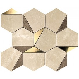 Marvel Edge Gold Hex Sable-Brown 25,1x29 - 9EHS Atlas Concorde
