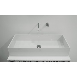 GSG BOX LAVABO IN CRYSTAL-TECH CM 80