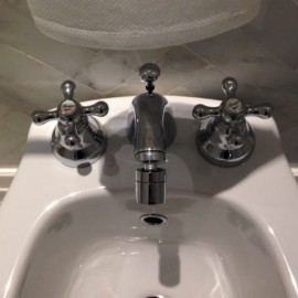 Three Holes Taps with Spout